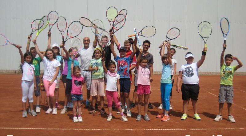 Лятна тенис занималня
