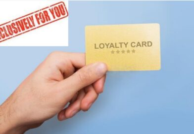 EXCLUSIVELY FOR YOU! LOYALTY CARD!